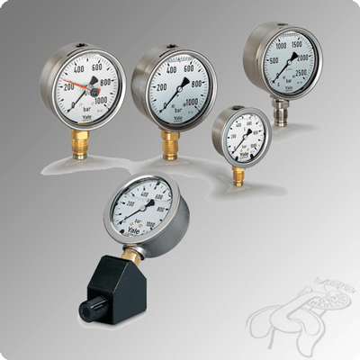 Manometer und Manometer-Adapter
